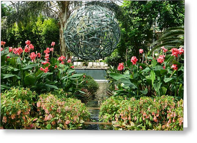 Eloquence Greeting Cards - Conservatory Eloquence 01 - Longwood Gardens PA Greeting Card by Emmy Marie Vickers