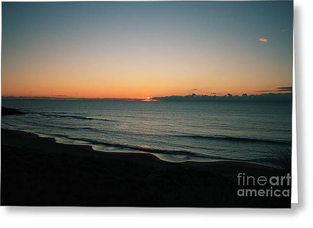 Constantine Sunset Greeting Card by Carl Whitfield