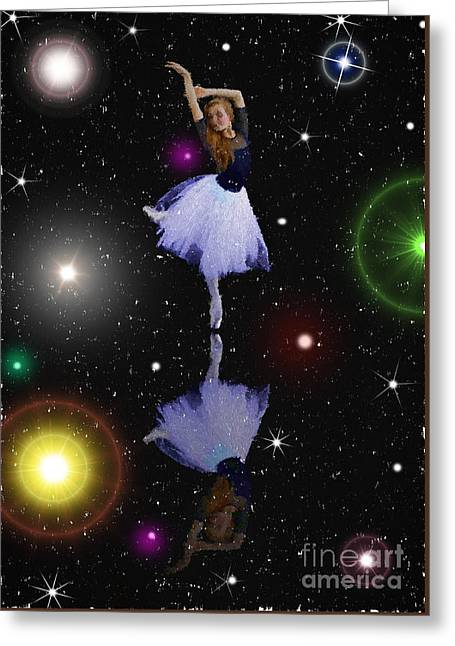 Artistic Photography Greeting Cards - Constellations Ballet Greeting Card by C W Hooper