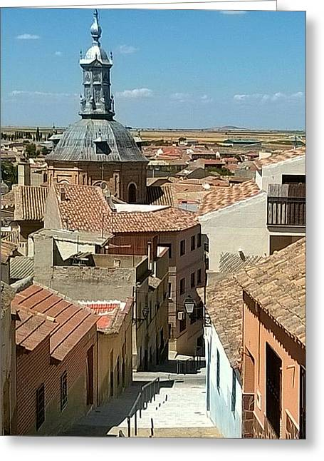Consuegra Greeting Cards - Consuegra Greeting Card by Julie Pacheco-Toye