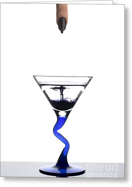 Table Wine Greeting Cards - Contamination Greeting Card by Johannes Gerhardus Swanepoel