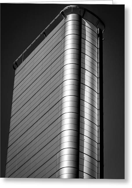 Monolith Greeting Cards - Contemporary Ivory Tower Greeting Card by Justin Woodhouse