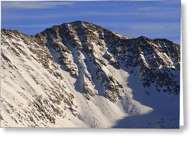 Loveland Greeting Cards - Continental Divide Greeting Card by Noah Bryant