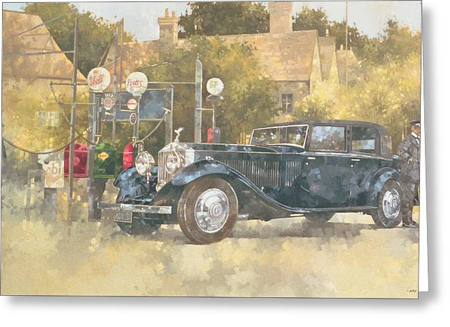 Continental Phantom Two Greeting Card by Peter Miller