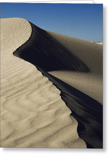 Contours Greeting Card by Chad Dutson