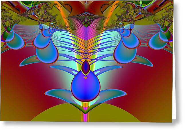 Abstract Forms Greeting Cards - Contractual Greeting Card by Solomon Barroa