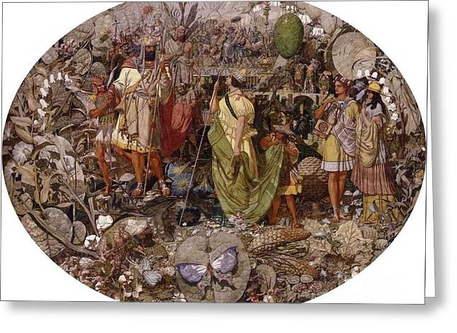 Contradiction Greeting Card by Richard Dadd