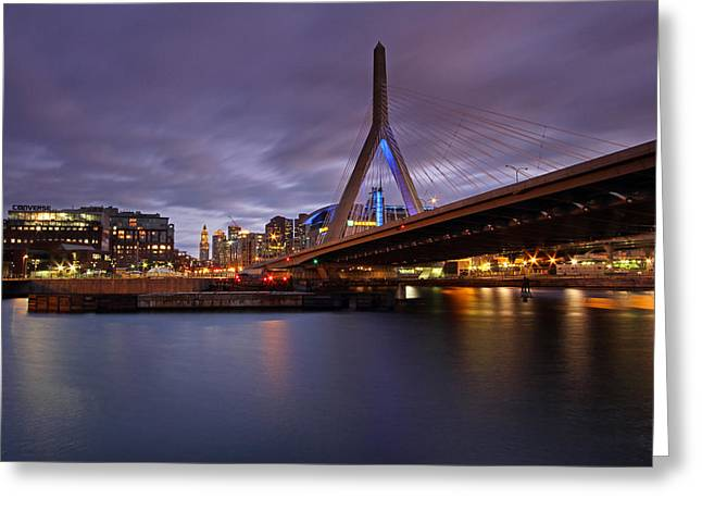Boston Garden Greeting Cards - Converse Greeting Card by Juergen Roth
