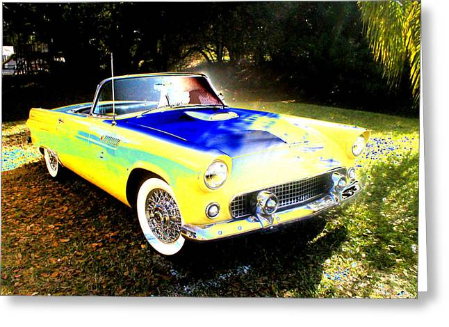 Historical Car Greeting Cards - Convertable Greeting Card by Peter  McIntosh