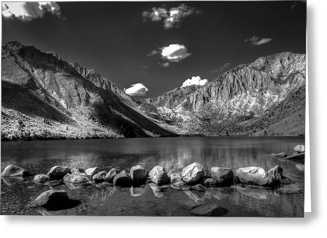 Eastern Sierra Greeting Cards - Convict Lake near Mammoth Lakes California Greeting Card by Scott McGuire