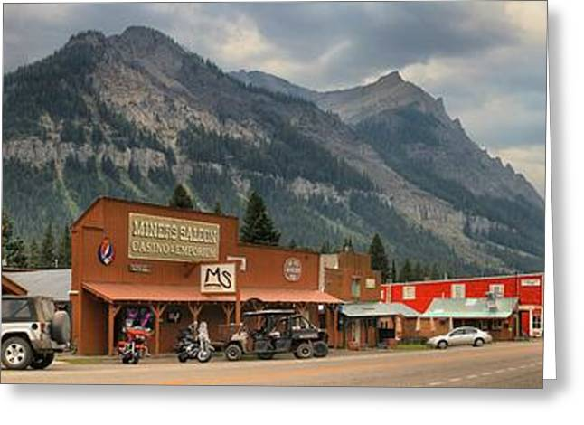 Cooke Greeting Cards - Cooke City Outside Yellowstone Greeting Card by Adam Jewell