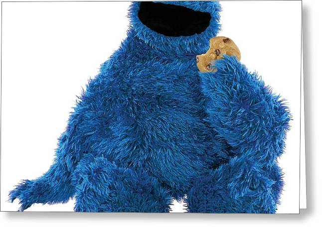 Cookie Monster Greeting Card by Sesame Street