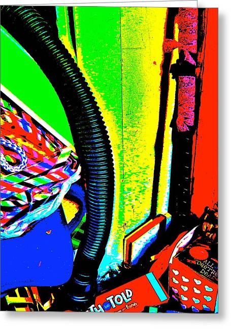 Miscellany Greeting Cards - Cool Clutter 52 Greeting Card by George Ramos