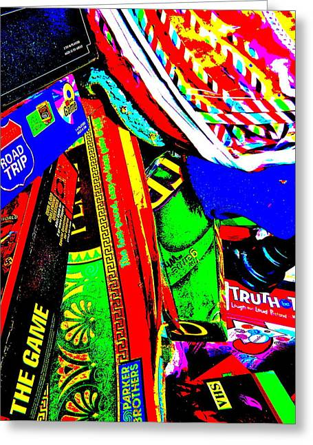 Miscellany Greeting Cards - Cool Clutter 56 Greeting Card by George Ramos