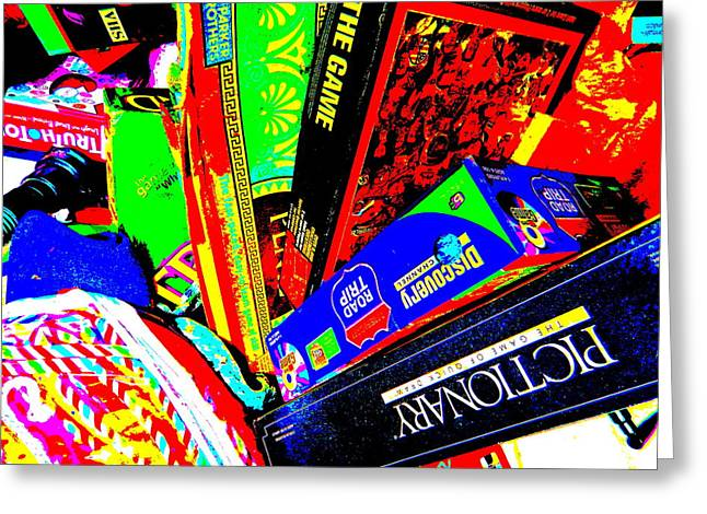 Miscellany Greeting Cards - Cool Clutter 58 Greeting Card by George Ramos