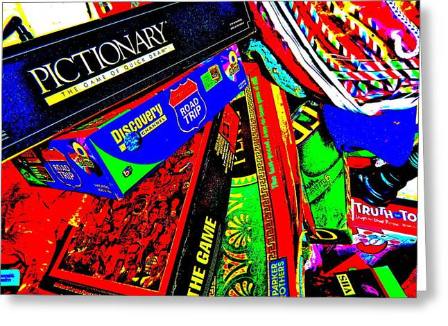 Miscellany Greeting Cards - Cool Clutter 59 Greeting Card by George Ramos