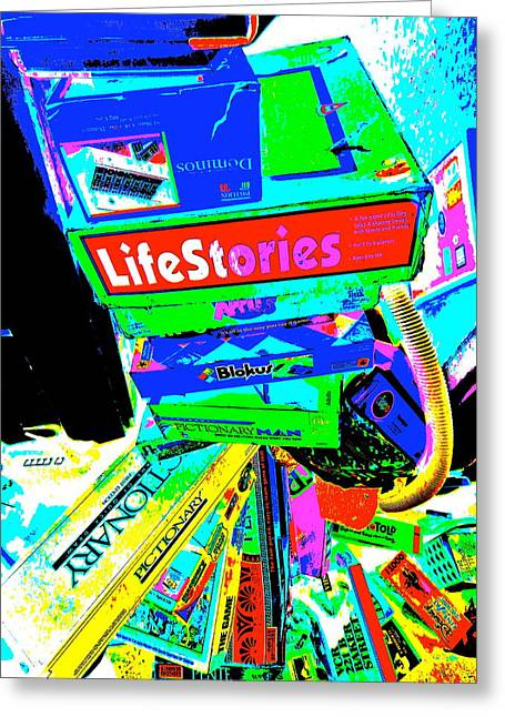 Miscellany Greeting Cards - Cool Clutter 60 Greeting Card by George Ramos
