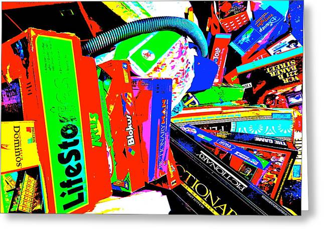 Miscellany Greeting Cards - Cool Clutter 61 Greeting Card by George Ramos