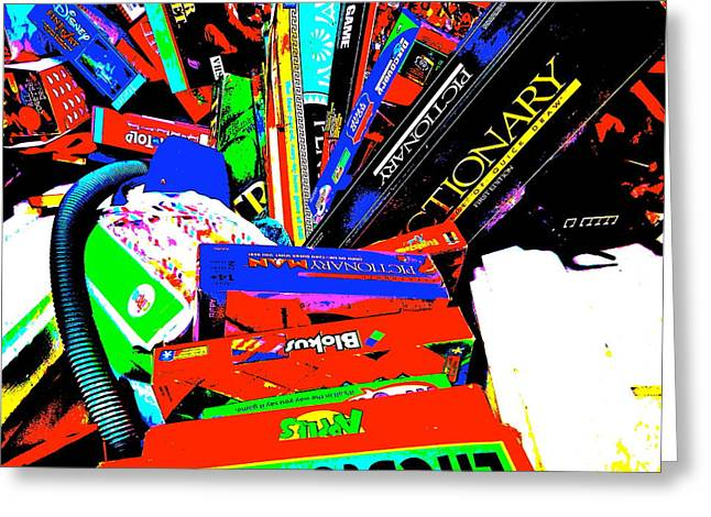 Miscellany Greeting Cards - Cool Clutter 62 Greeting Card by George Ramos
