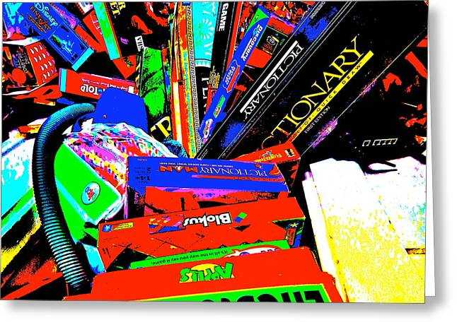 Miscellany Greeting Cards - Cool Clutter 63 Greeting Card by George Ramos