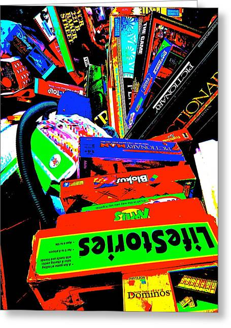 Miscellany Greeting Cards - Cool Clutter 64 Greeting Card by George Ramos