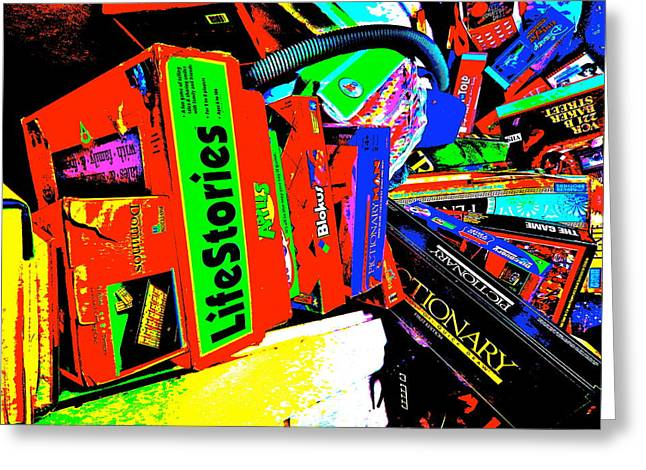 Miscellany Greeting Cards - Cool Clutter 65 Greeting Card by George Ramos