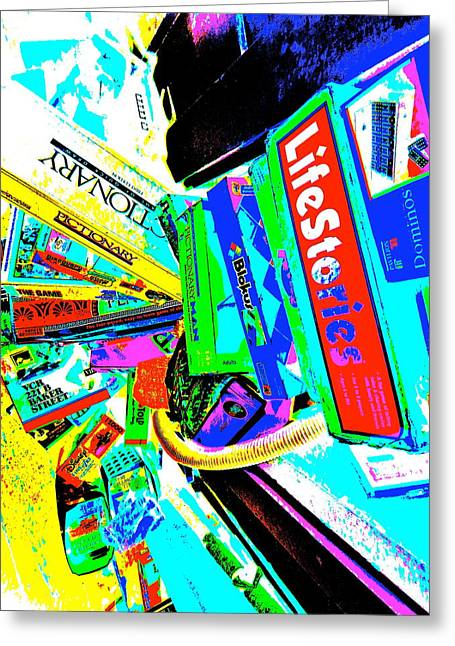 Miscellany Greeting Cards - Cool Clutter 66 Greeting Card by George Ramos