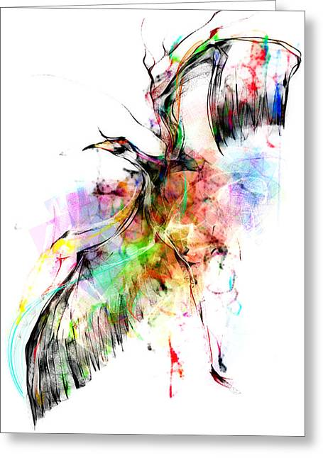 Creative People Greeting Cards - Cool Sketch 81 Greeting Card by Len YewHeng