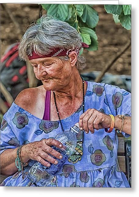 Creative People Greeting Cards - Cooling Off Greeting Card by John Haldane