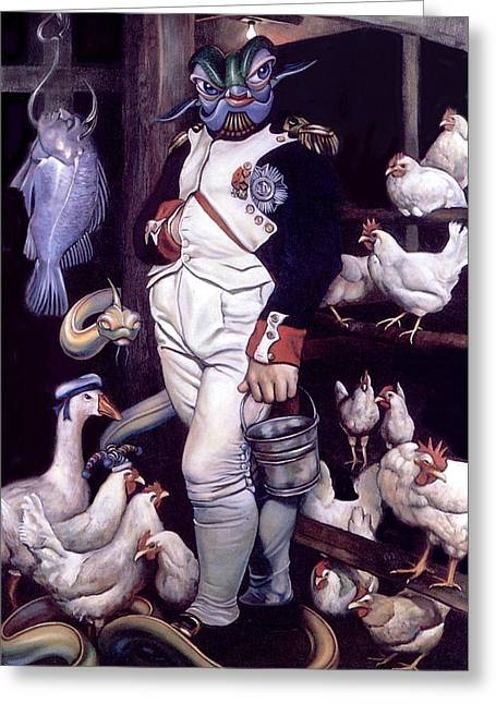 Napoleon Bonaparte Greeting Cards - Coop dEtat Greeting Card by Patrick Anthony Pierson