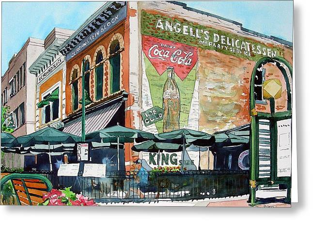 Fort Collins Greeting Cards - Coopersmiths Again Greeting Card by Tom Riggs