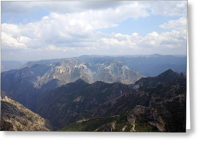 Madre Greeting Cards - Copper Canyon II Greeting Card by Kurt Van Wagner
