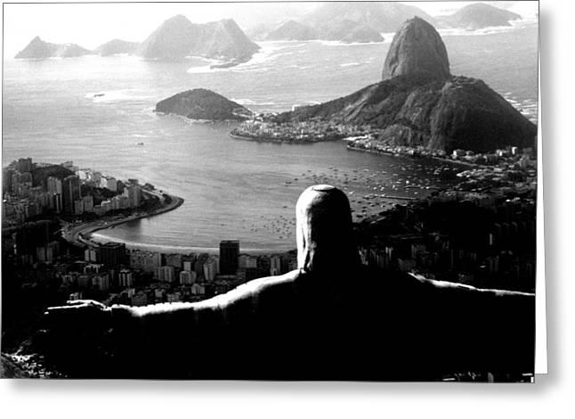 Rio Greeting Cards - Corcovado - Rio de Janeiro - Brasil Greeting Card by Eduardo Costa