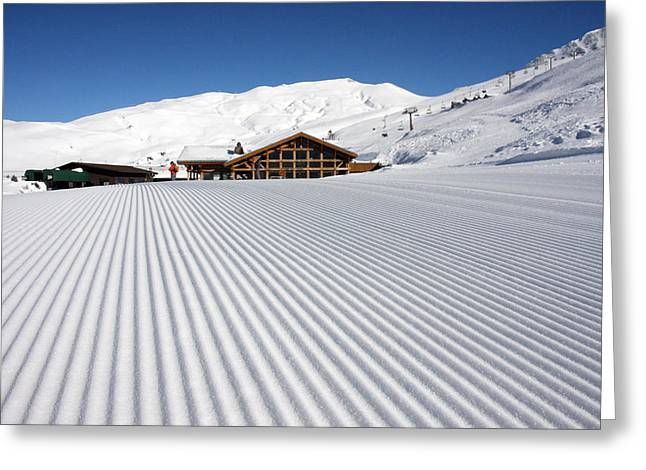 Corduroys Greeting Cards - Corduroy Chamonix France Greeting Card by Pierre Leclerc Photography