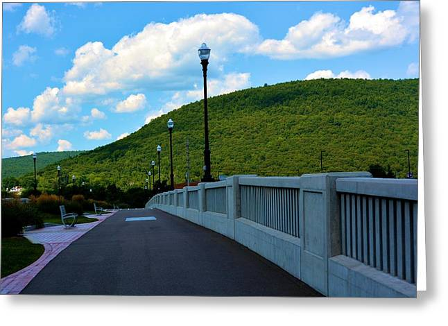 Famous Bridge Greeting Cards - Corning Bridge 1 Greeting Card by Richard Jenkins