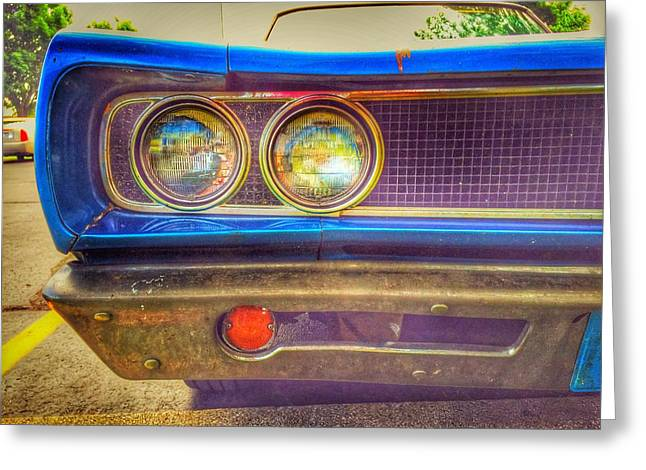 Coronet 500 Greeting Card by Jame Hayes