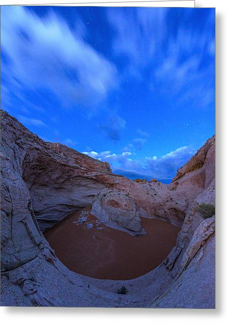 Southern Utah Greeting Cards - Cosmic Twilight  Greeting Card by Dustin  LeFevre