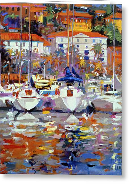 Reflecting Water Greeting Cards - Cote du Midi Greeting Card by Peter Graham