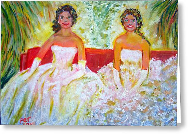 Cotillion Greeting Card by Patricia Taylor