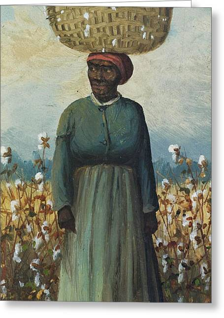 Cotton Pickers Greeting Cards - Cotton Pickers Greeting Card by William Aiken Walker