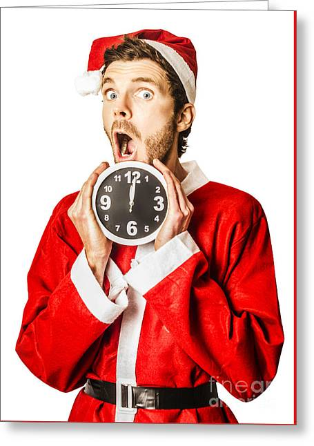 Countdown To Christmas Time Coming Soon Greeting Card by Jorgo Photography - Wall Art Gallery