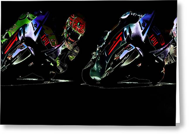 World Rally Championship Greeting Cards - Counterbalance II Greeting Card by Brian Reaves