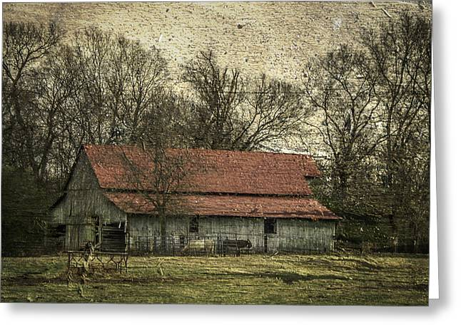 Tennessee Barn Greeting Cards - Tennessee Barn Greeting Card by Nancy Forehand