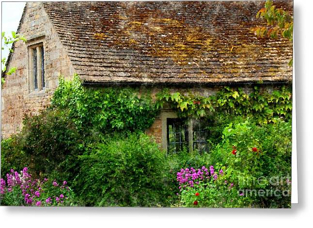 Shabbychic Greeting Cards - Cottage Garden. Greeting Card by ShabbyChic fine art Photography