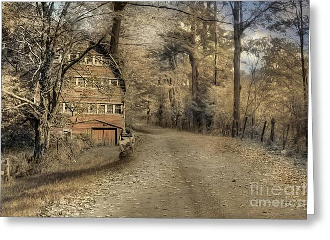 Country Dreaming Greeting Card by Lori Deiter