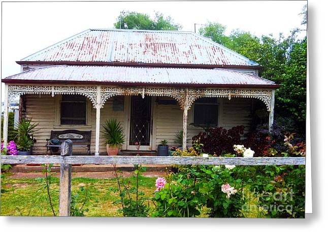 Weatherboard Greeting Cards - Country Home Greeting Card by Kim Magee and Crystal Mclean  Aunt and Niece Photography