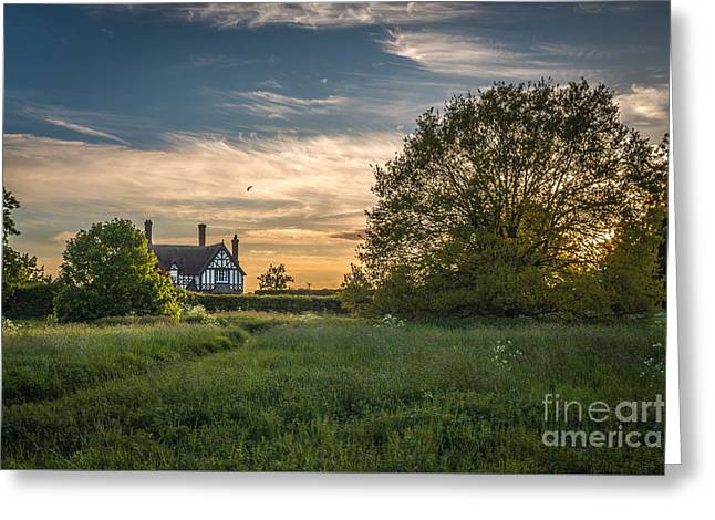 Country House Greeting Card by Amanda And Christopher Elwell