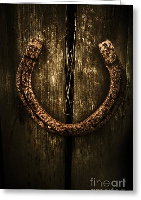 Country Luck Greeting Card by Jorgo Photography - Wall Art Gallery