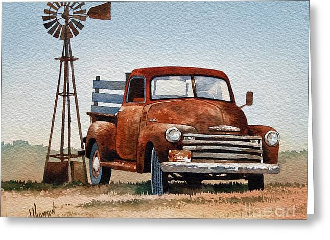 Country Framed Prints Greeting Cards - Country Memories Greeting Card by James Williamson