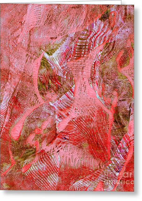 Printmaking Greeting Cards - Country Picnic Greeting Card by Laura L Leatherwood